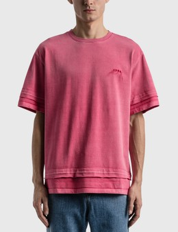 Ader Error Needle Logo Layered T-shirt