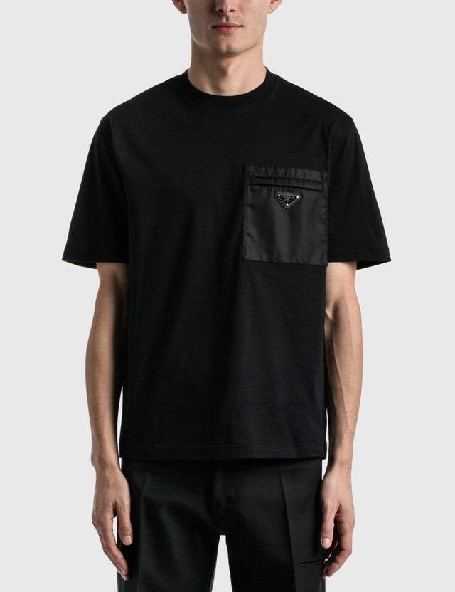 Prada Pocket T-shirt Nero Men