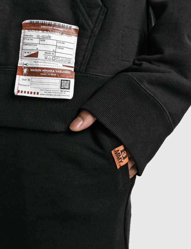 Maison Mihara Yasuhiro Hem Layered Pants Black Men