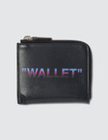 Off-White Quote Zip Wallet Picture