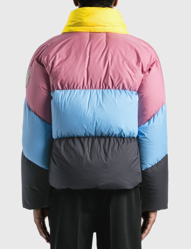 Moncler Genius Moncler Genius x JW Anderson Bickly Jacket Yellow/blue/black Men