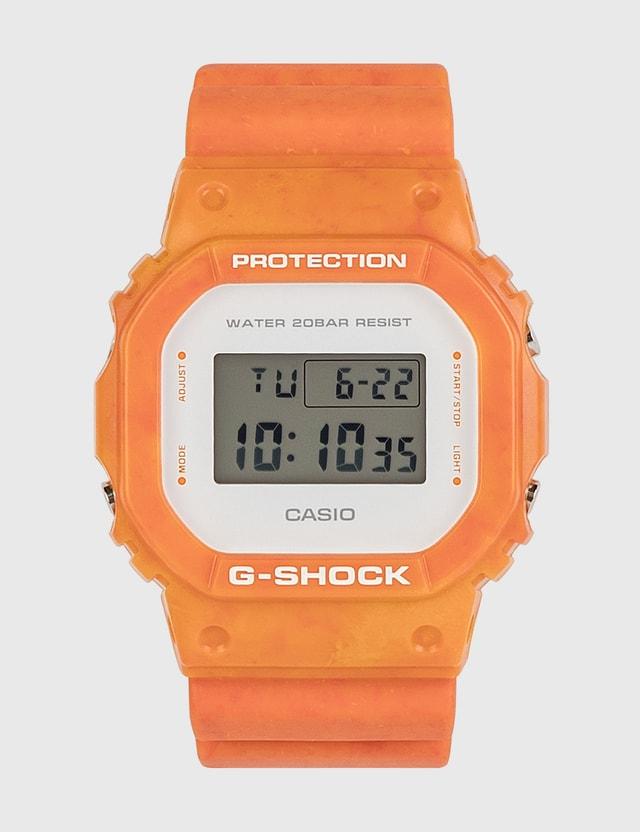 G-Shock DW-5600WS-4 Orange Men