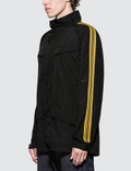 Stella McCartney Parka with Gold Piping Black Men
