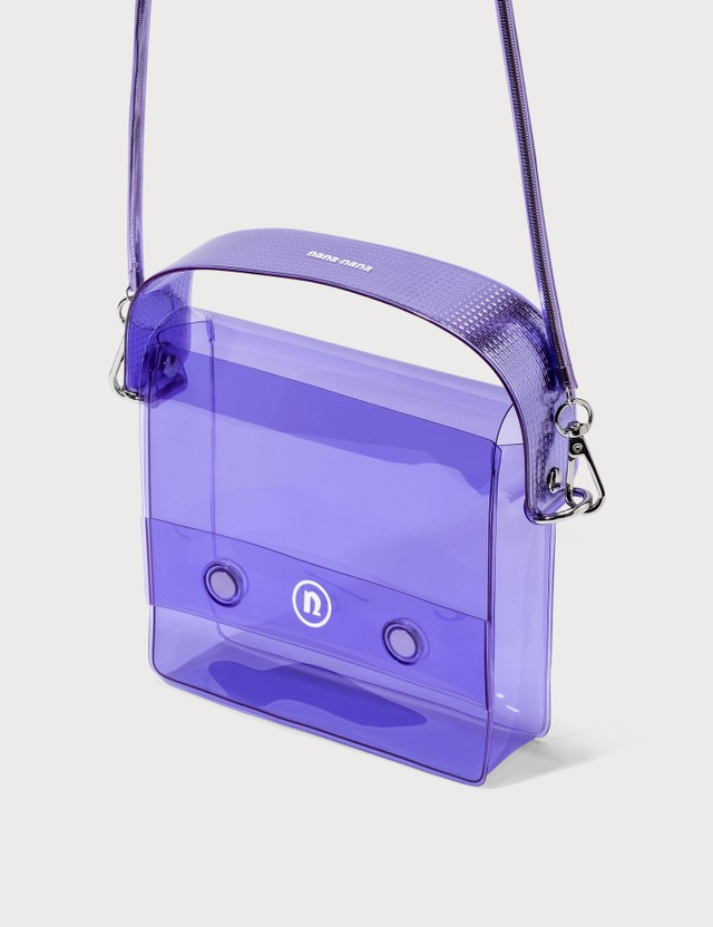 Nana-nana PVC Square Bag Lavender Women