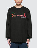 Diamond Supply Co. Snake L/S T-Shirt Picture