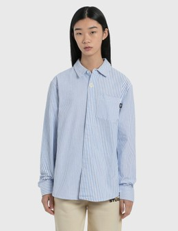 Stussy Big Button Oxford Long Sleeve Shirt