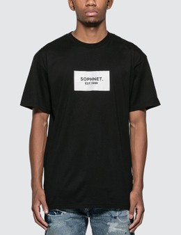 SOPHNET. Box Logo T-Shirt
