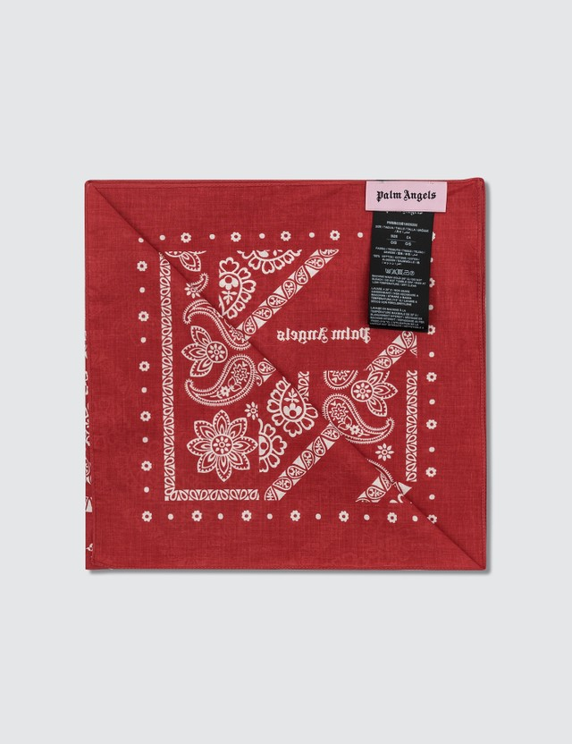 Palm Angels Bandana Square Scarf