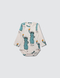 Mini Rodini Liberty Aop Long Sleeve Body Picture