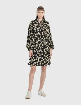 Loewe Shamrock Peasant Mini Dress