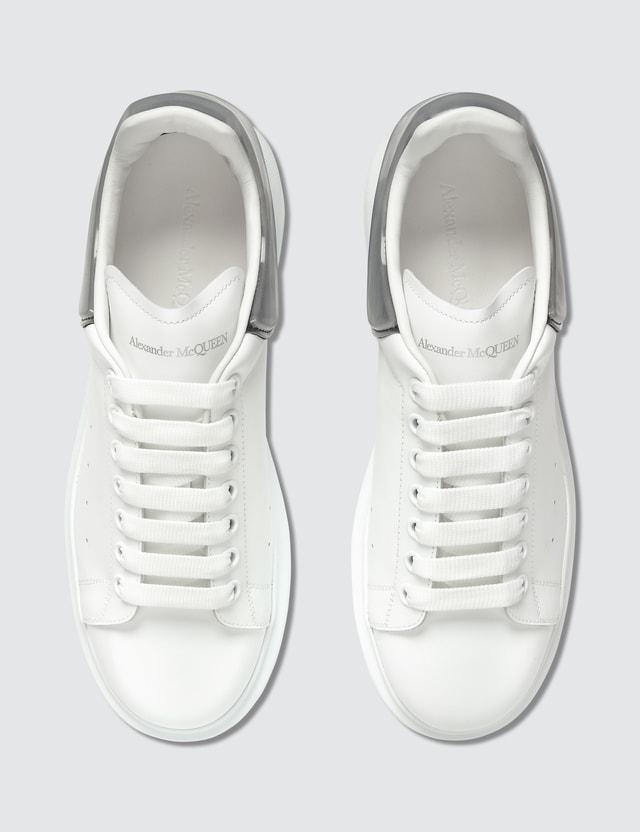 Alexander McQueen Oversized Sneaker With Plastic Heel Counter