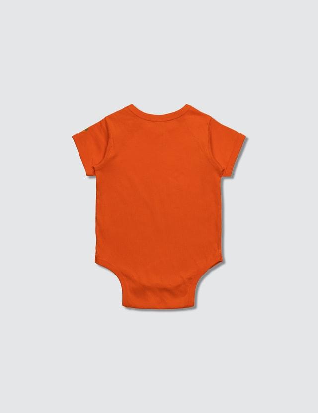 Carrots Baby Carrots Wordmark Onesie