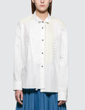 Loewe Lace Trim Asymmetric Shirt Picutre