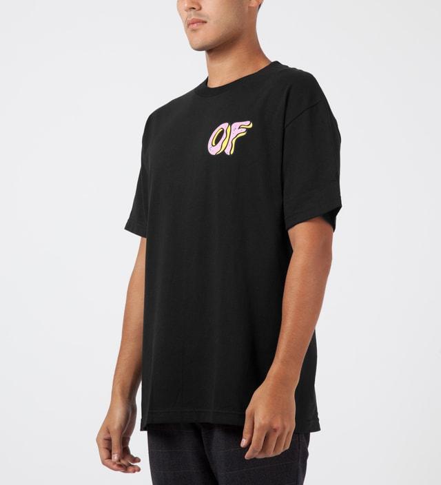 b85a9f61cd81 Odd Future - Black OF Donut T-Shirt