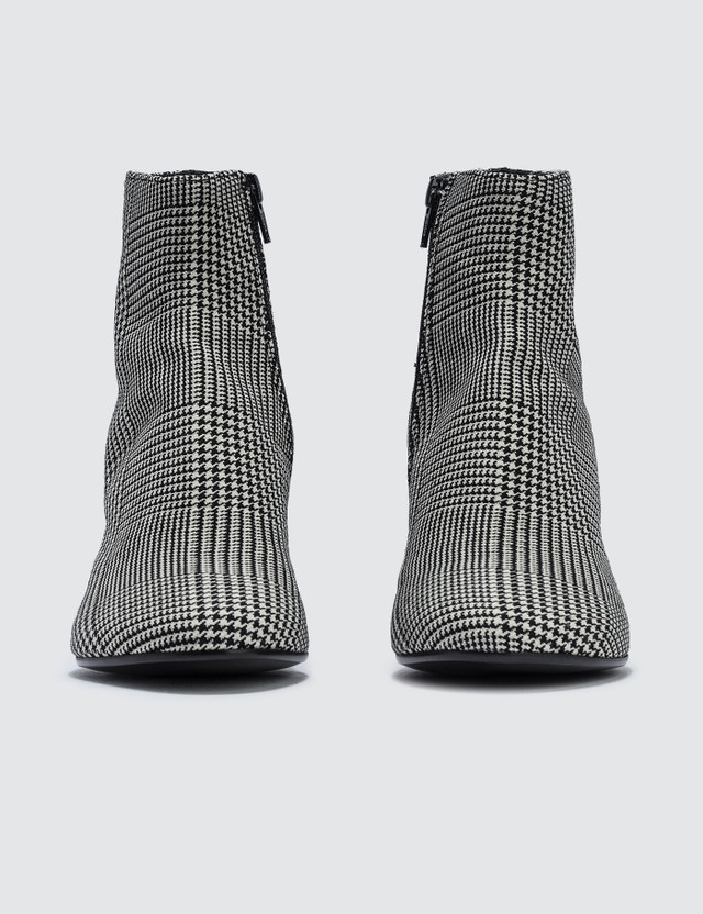 MM6 Maison Margiela Plaid Ankle Boots