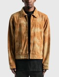 Stussy Shearling Dyed Trucker Jacket Picture
