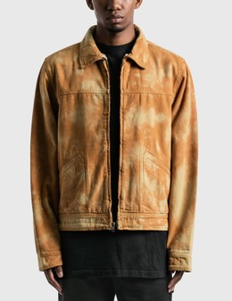 Stussy Shearling Dyed Trucker Jacket
