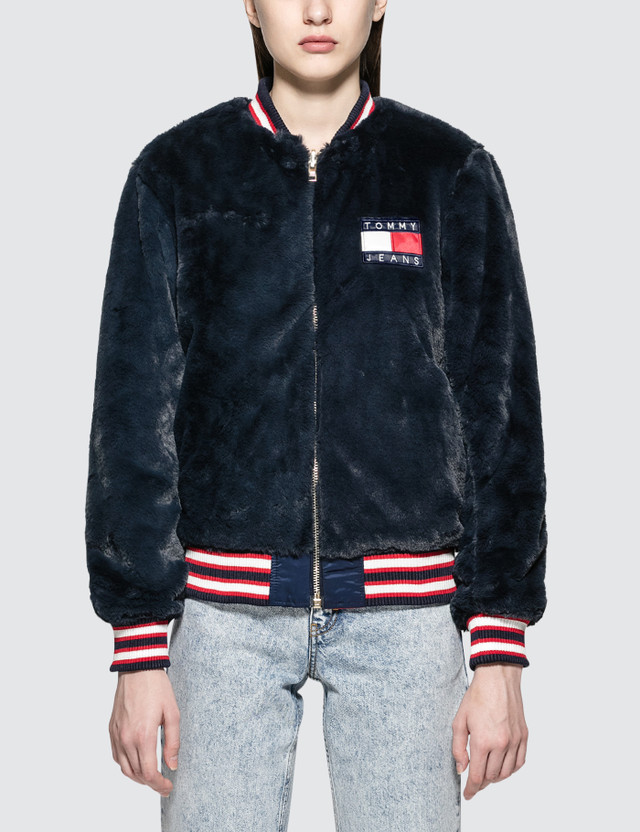 Tommy Jeans 90S Reversible Flag Jacket
