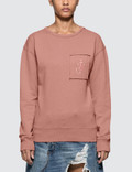 JW Anderson Garment Dyed Jwa Anchor Patch Sweatshirt Picture