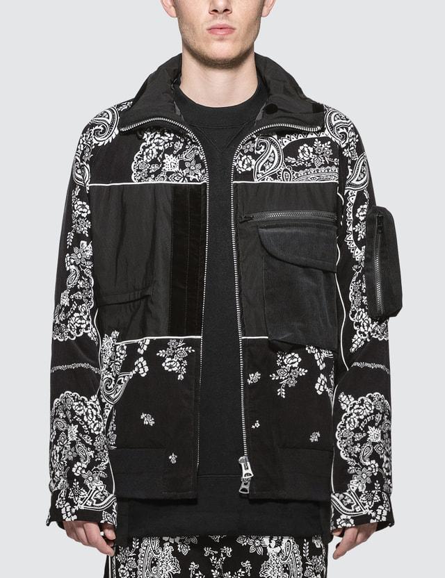 Sacai Paisley Print Bandana Jacket