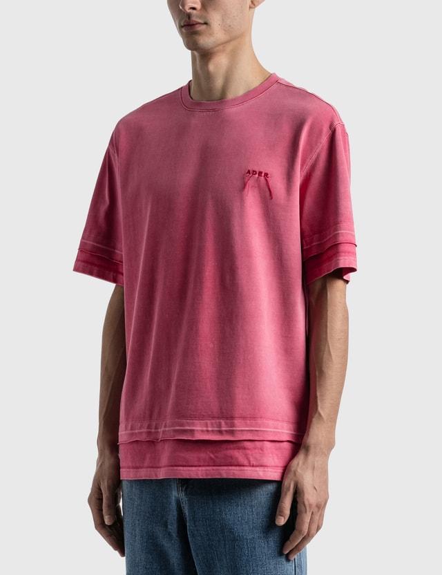 Ader Error Needle Logo Layered T-shirt