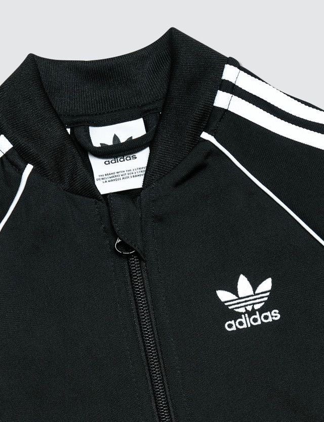 Adidas Originals Superstar Track Suit Black Kids