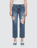 SJYP Side Cut Off Jeans Picture