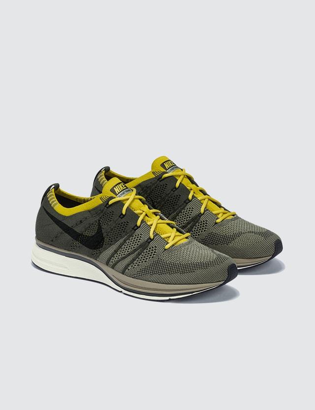Nike Nike Flyknit Trainer Cargo Khaki/black-sail-bright Citron Women