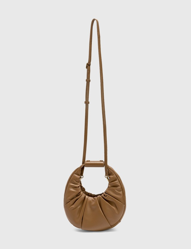 Staud Mini Soft Moon Bag Mushroom Women