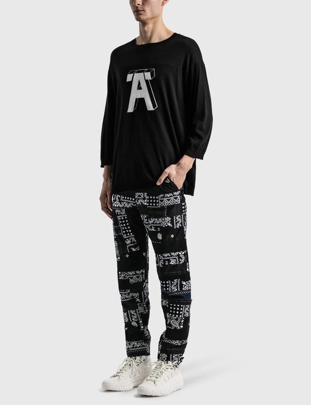 "Undercover ""A"" Sweater Black Men"