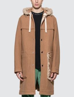Acne Studios Orvon Faux Shearling Duffle Coat