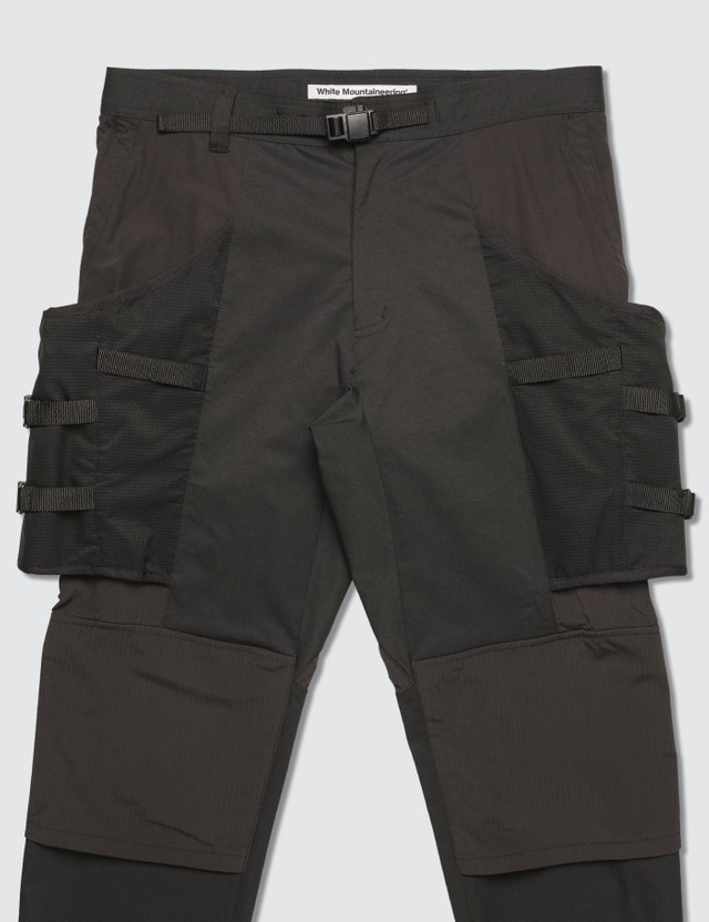 White Mountaineering Mixed Pants
