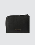 Common Projects Zipper Wallet In Soft Leather Picture