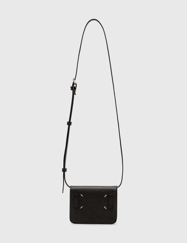 Maison Margiela Leather Belt Bag Black Men