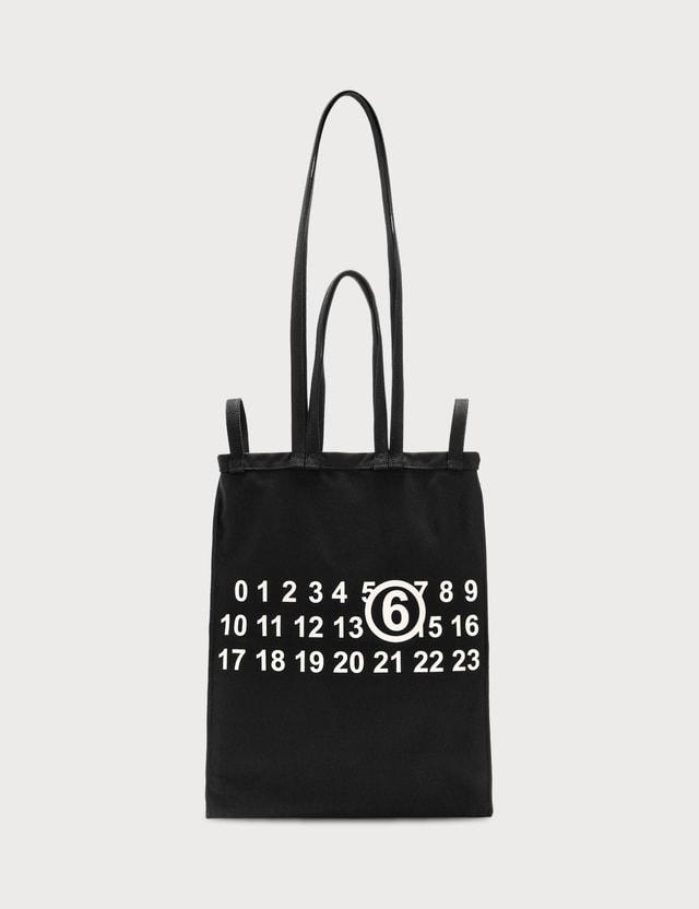 MM6 Maison Margiela Multi Handle Logo Tote Bag