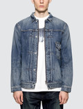 Denim By Vanquish & Fragment Remake Slide Fastener Denim Jacket Picture
