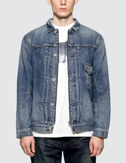 Denim By Vanquish & Fragment Remake Slide Fastener Denim Jacket
