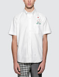 Thom Browne Straight Fit Button Down S/S Shirt Picture