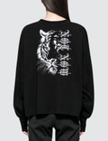 Marcelo Burlon Tiger Low Light Long Sleeve T-shirt Picture