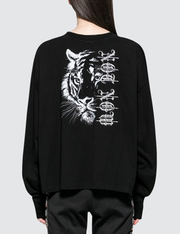 Marcelo Burlon Tiger Low Light Long Sleeve T-shirt