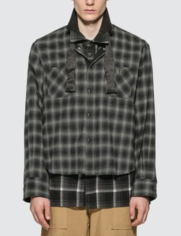 Sacai Ombre Check Shirt