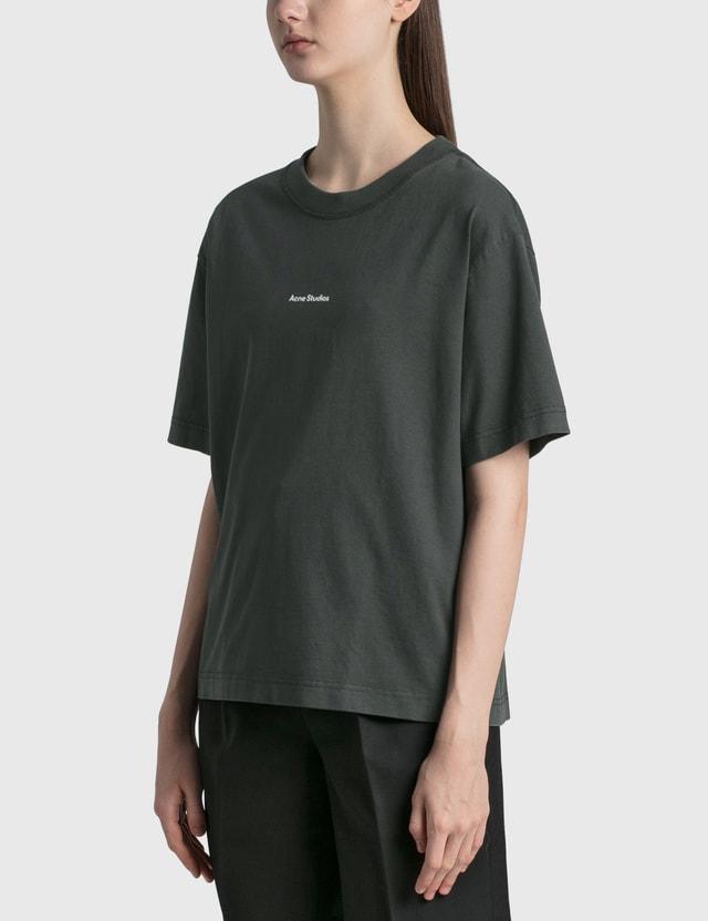 Acne Studios Edie Stamp T-shirt Black Women