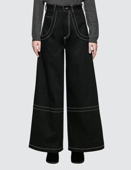 Maison Margiela Stitch Detail 5 Pockets Pants