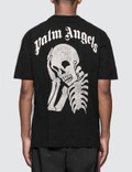 Palm Angels Thinking Skull T-Shirt
