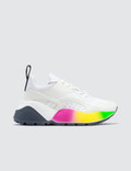 Stella McCartney Eclypse Lace Up Sneaker With Rainbow Sole Picture