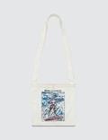 Comme des Garçons HOMME 4 Pattern Painted Shoulder Bag