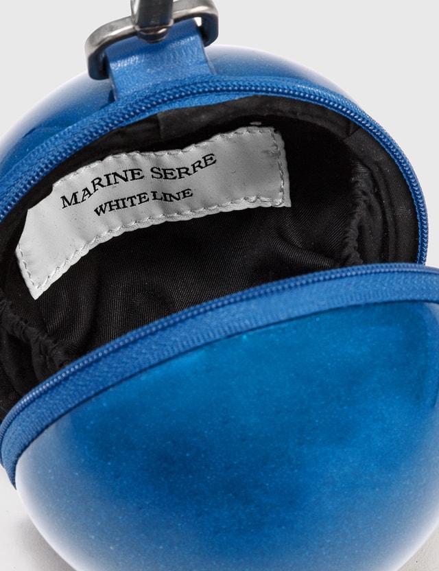 Marine Serre Micro Ball Bag 9.5cm 06 Dark Sapphire Color Women