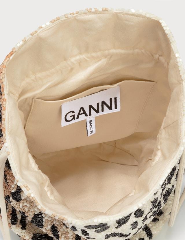 Ganni Leopard Crossbody Bag