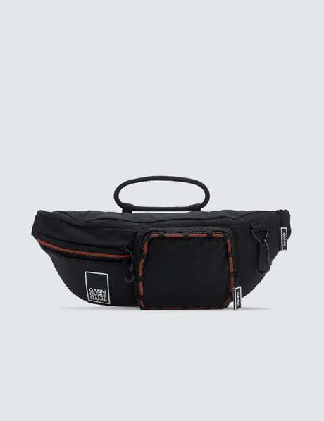 가니 벨트백 Ganni Tech Fabric Fanny Pack