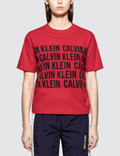 Calvin Klein Performance Logo Crop Boxy SST Picture